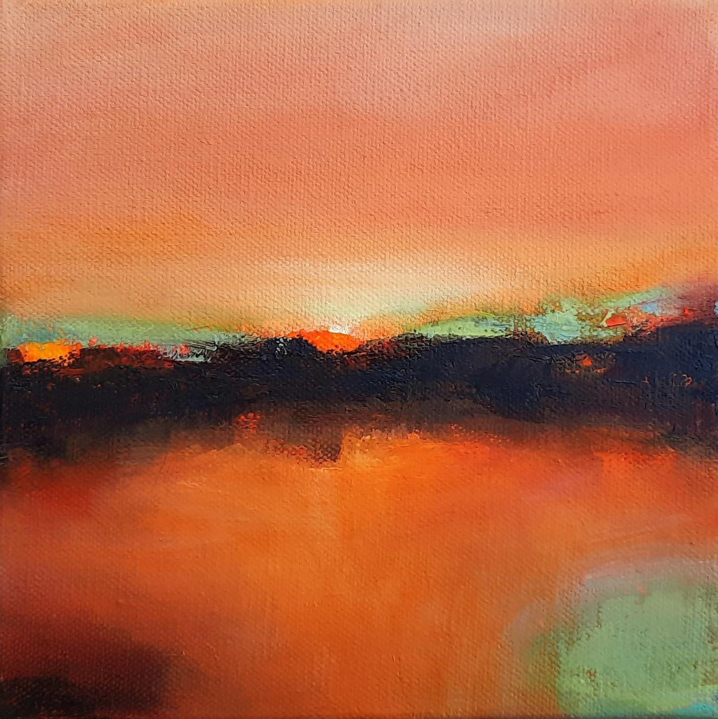 Maryline Mercier - Color Memory-Mandarine-Pistache