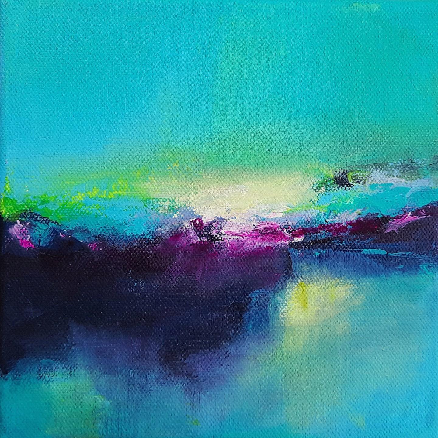 Maryline Mercier - Color Memory-Menthe-Cassis