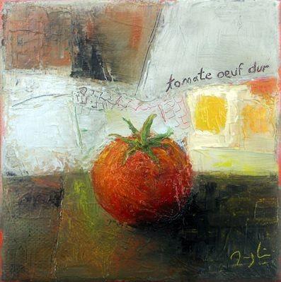 maryline mercier - Tomate oeuf dur
