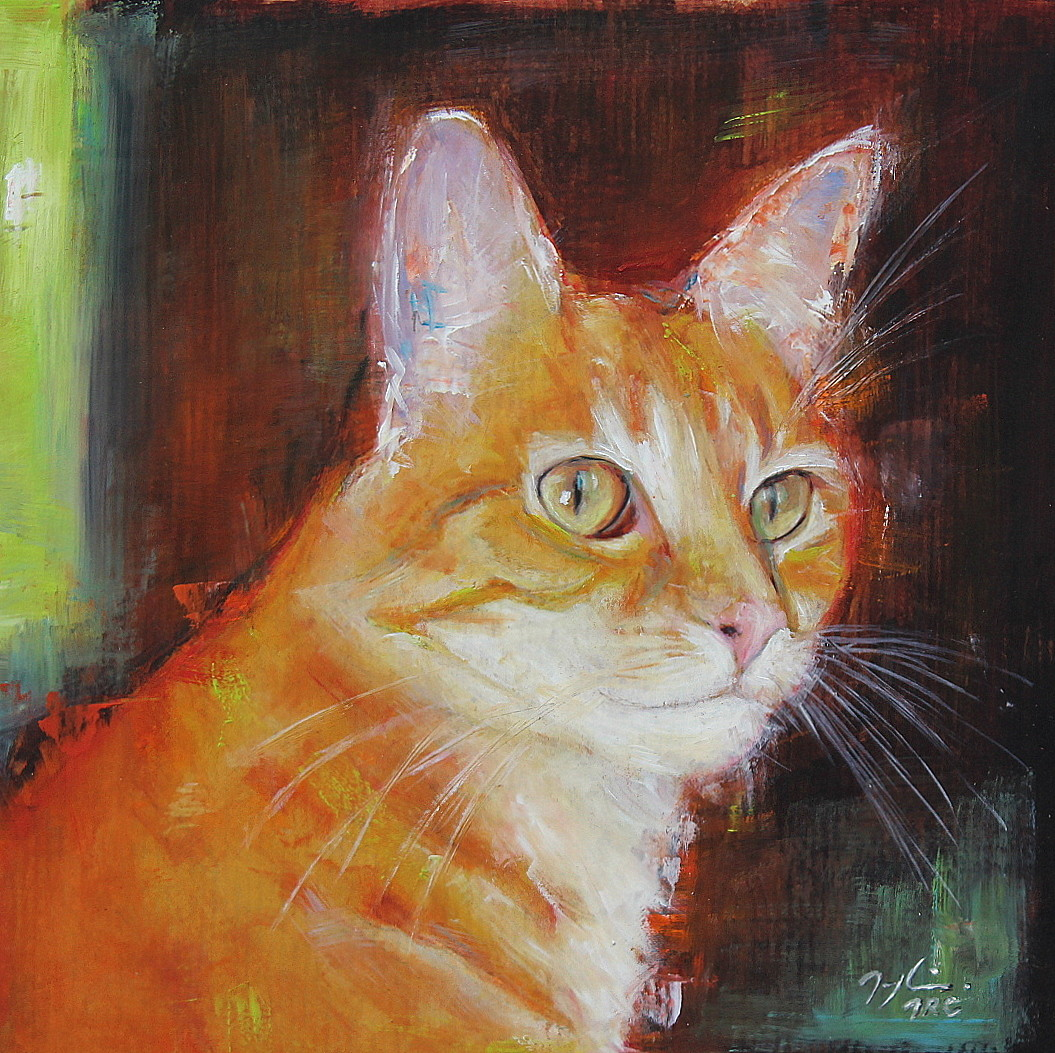 maryline mercier - Le Chat